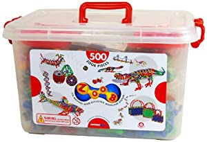Infinitoy Zoob Basic Set, 500 - Piece from Infinitoy