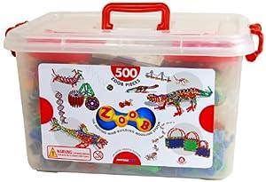 Infinitoy Zoob Basic Set, 500 - Piece