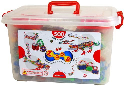 Great Gizmos - Zoob 500 Piece Tub