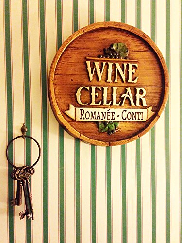Wine Barrel Personalized Wine Cellar Sign by Piazza Pisano