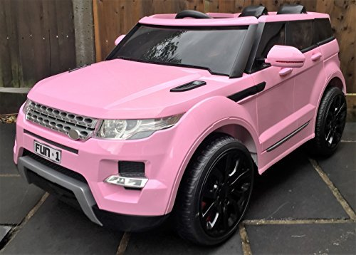 kids range rover hse sport style 12v electric battery ride on car jeep pink new model by epic