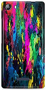 AKMOBI Designer Hard Back Case Cover For Micromax Canvas 5 E481