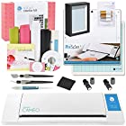 Silhouette CAMEO Starter Bundle with Vinyl Kit, 2 Cutting Blades, Pixscan Mat, Metallic Pens, Tools and More