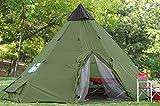 サバイバル キャンピング 防水 大型 テント 10-12人用 [並行輸入品]