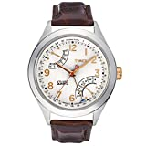 Timex Perpetual Calendar White Dial Men's watch #T2N504