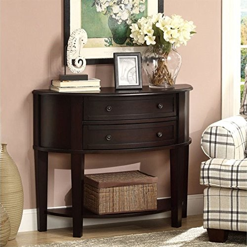 Coaster Home Furnishings Casual Console Table, Cappuccino (Coasters Console Table compare prices)