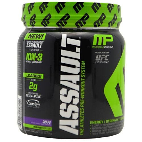 Muscle Pharm Hybrid Series Assault - Grape - 30 servings (Muscle Pharm Assault Grape compare prices)