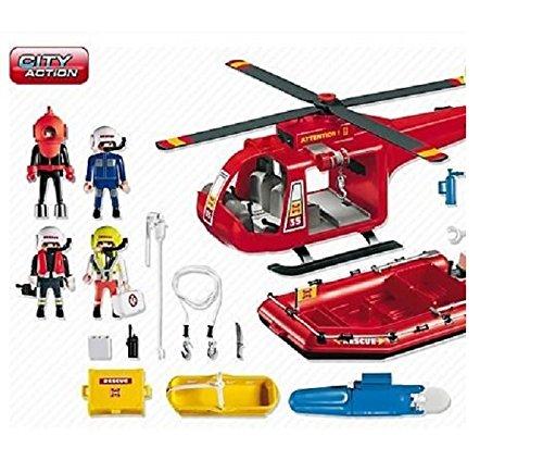 Opiniones de playmobil 4428 helic ptero y bote de - Playmobil samu ...
