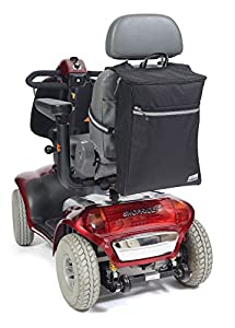 Simplantex Deluxe Ripstop Scooter Bag * Now With Upgraded Fabric & Trimmings - Black