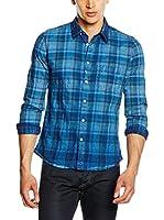Energie Camisa Hombre (Azul)