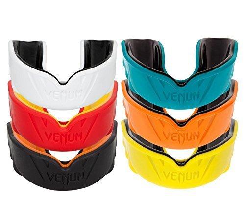 "Venum Mundschutz ""Challenger"" - Neue Kollektion - Zahnschutz,Mouthguard,Zahnschützer (Red/Yellow)"