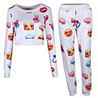 ELFIN� Men's Women's Funny Sweaters E…