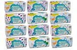 Angel Soft Facial Tissue, Soft Packs, 165 Count (Pack of 12)