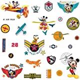 RoomMates RMK1674SCS Mickey & Friends - Clubhouse Pilot Peel & Stick Wall Decals