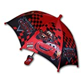 Disney Pixar Cars Lightning Mcqueen Boy's Umbrella with 3D Handle