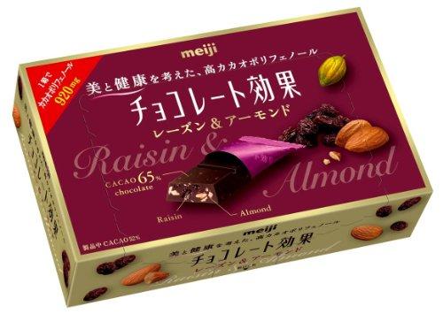 明治 チョコレート効果レーズン&アーモンドBOX 54g×5個