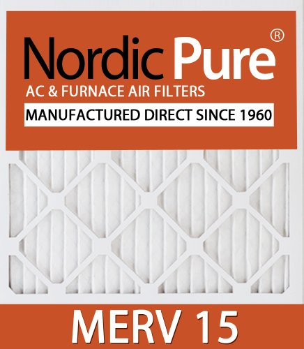 Nordic Pure 20x20x4M15 20-Inch by 20-Inch by 4-Inch MERV 15 AC Furnace Air Filter 6-Piece at Sears.com