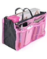 chinkyboo 12 Pockets Insert Travel Organiser Handbag Organizer Bag - Grey, Blue, Green, Pink, Wine red, Orange With a chinkyboo logo bag as gift
