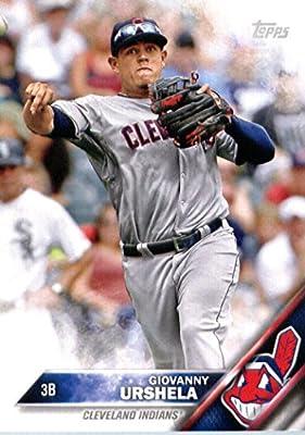 2016 Topps Team Edition #CI-6 Giovanny Urshela Cleveland Indians Baseball Card