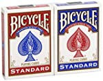 "BICYCLE ""Blue & Red"": 2 Jeux-Format :..."
