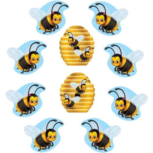 Mini Bumblebee Cutouts   (10/Pkg)