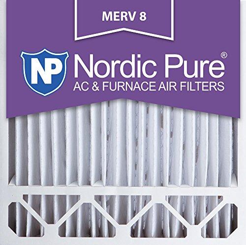 20x20x5 Honeywell Replacement MERV 8 Air Filters Qty 2 20x20x5HM8-2