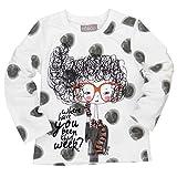 boboli, CAMISETA PUNTO ELÁSTICO - Camiseta para bebés, color blanco quimico, talla 4 años