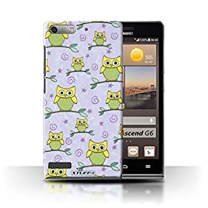 Amazon.com: STUFF4 Phone Case / Cover for Huawei Ascend G6 3G / Yellow