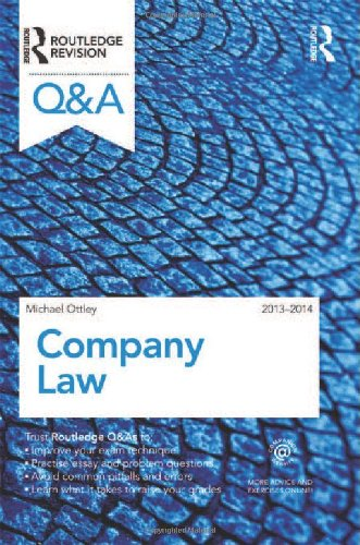 Q&A Company Law 2013-2014 (Questions and Answers)