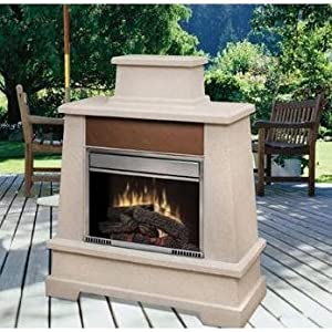 Amazon Dimplex Sierra Vista Outdoor Electric Fireplace