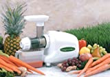 OMEGA 8003 WHEAT GRASS MULTIPURPOSE ELECTRIC JUICER/FOOD PROCESSOR/PASTA EXTRUDER