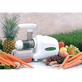 Omega 8003 Nutrition Center - Wheatgrass, Fruits and More