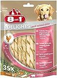 8in1 Delights Twist Pork Sticks, 35-Piece