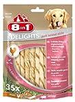 8in1 Delights Twist Pork Sticks, 35-P...