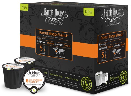 Barrie House Coffee Donut Shop Blend Capsules (96 capsules)