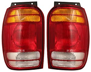 QP F7111-a Ford Explorer Passenger Tail Light Lens & Housing