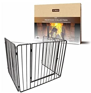 metal child safety guard fireplace screen hearth gate