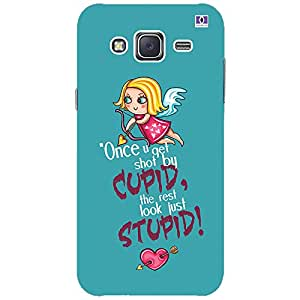 Cupid Stupid - Mobile Back Case Cover For Samsung Galaxy J3 (2016)