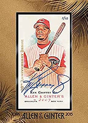 2015 Topps Allen & Ginter Hobby Baseball Box