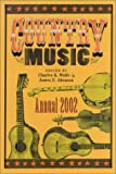 Country Music Annual 2002 (0813109914) by Wolfe, Charles K.