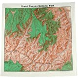 Topographic Map Bandana Grand Canyon National Park