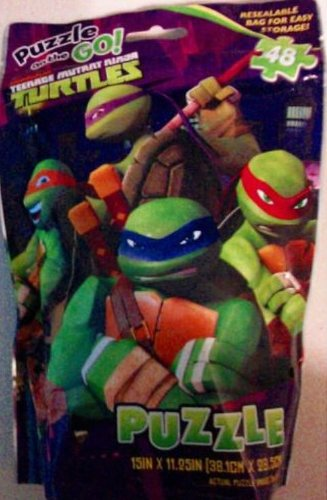 Nickelodeon Teenage Mutant Ninja Turtles Puzzle on the Go (48 Pieces) - 1