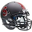 STANFORD CARDINAL Schutt AiR XP Full-Size AUTHENTIC Football Helmet (MATTE BLACK)