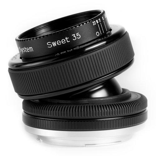 Lensbaby Composer Pro with Sweet 35 Lens Nikon  Tilt Lens