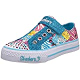 Skechers Twinkle Toes Shuffles Queen Bee Light-Up Sneaker (Little Kid/Big Kid)