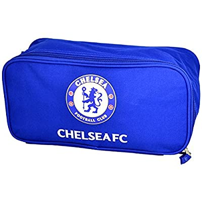 Official Chelsea FC Blue Boot Shoe Bag with Crest