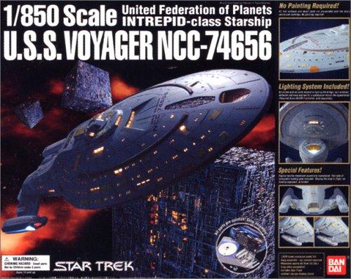 Star Trek U.S.S.voyager Ncc-74656 1/850 Bandai