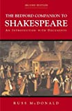 img - for The Bedford Companion to Shakespeare: An Introduction with Documents book / textbook / text book