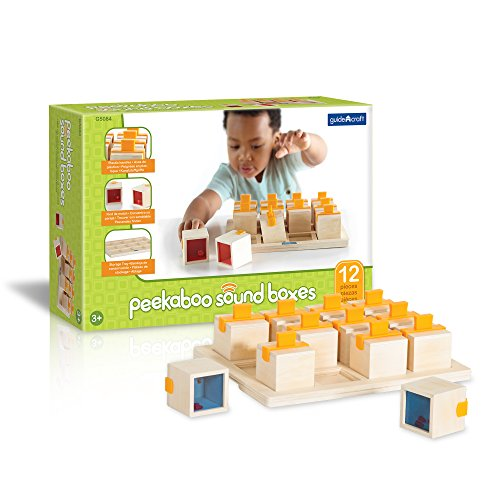 Guidecraft Peekaboo Sound Boxes - 1
