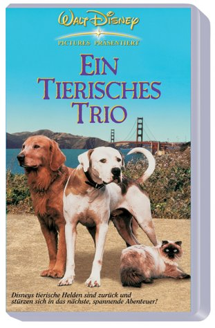 Ein tierisches Trio - Wieder unterwegs [VHS]